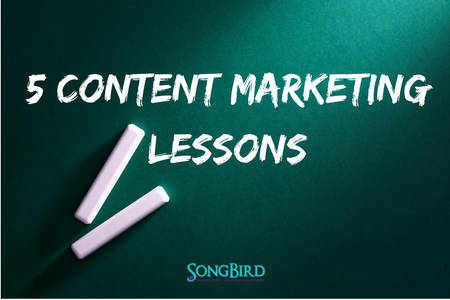 5 Important Content Marketing Lessons