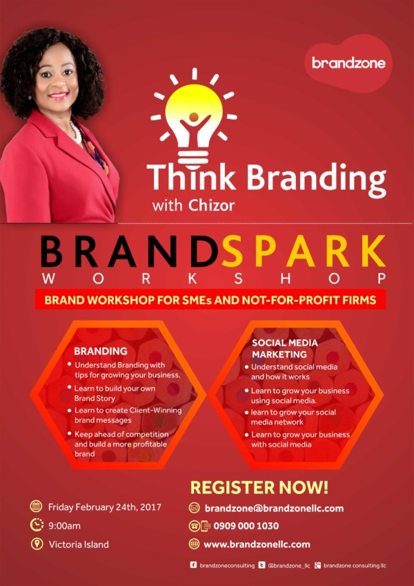Gain Insightful Knowledge about Branding & Social Media Marketing at the Brand Spark Workshop by Brandzone | Friday, February 24th