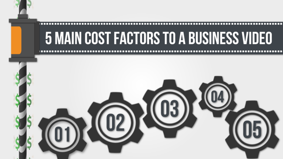 Cost Areas that Make Up a Business Video Marketing Communication