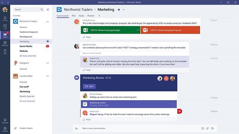 En Garde, Slack: Microsoft Teams Is Finally Here