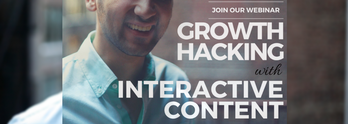 Growth Hacking with Interactive Content