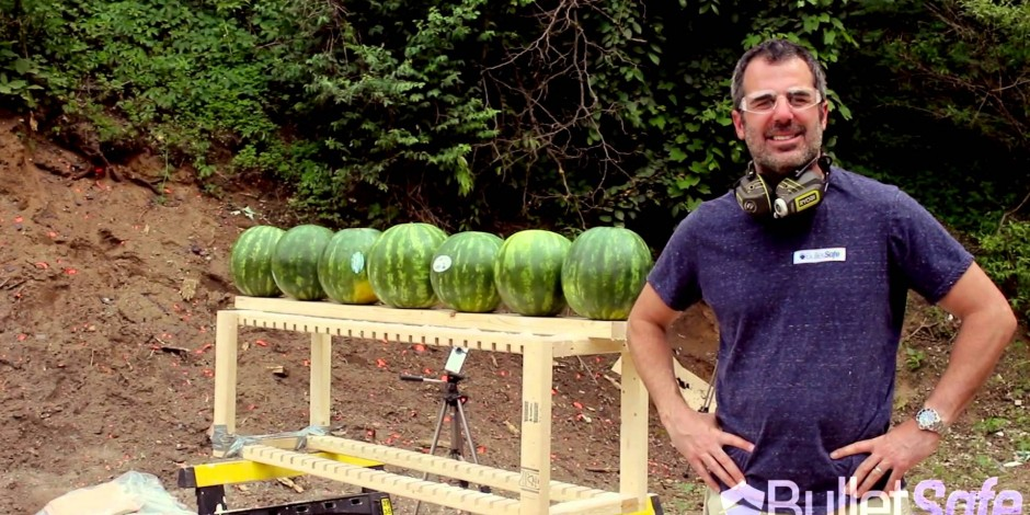 Small business to business video marketing can be as straightforward as shooting a melon