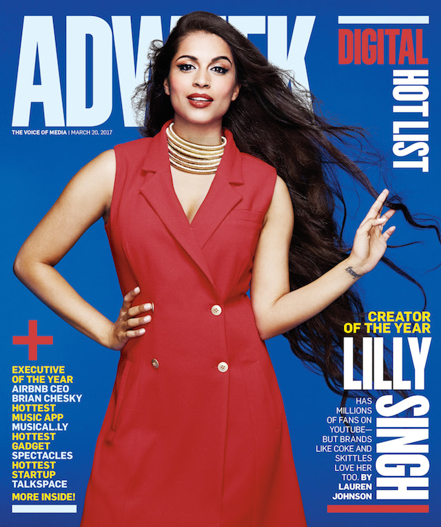 YouTuber Lilly Singh Has Built an Entire Career Around Her Positive, Uplifting POV on Life
