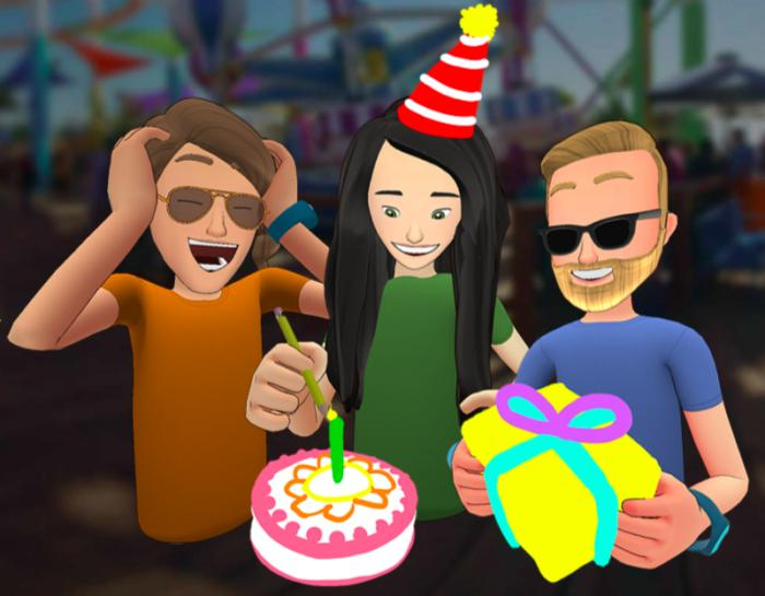 Facebook wants you to hang out with your friends in VR
