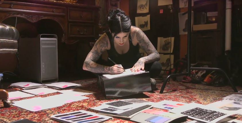 How Social Video Helped Kat Von D Built a Beauty Empire