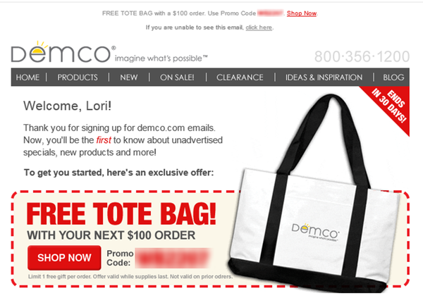Using Triggered Emails for B2B Ecommerce