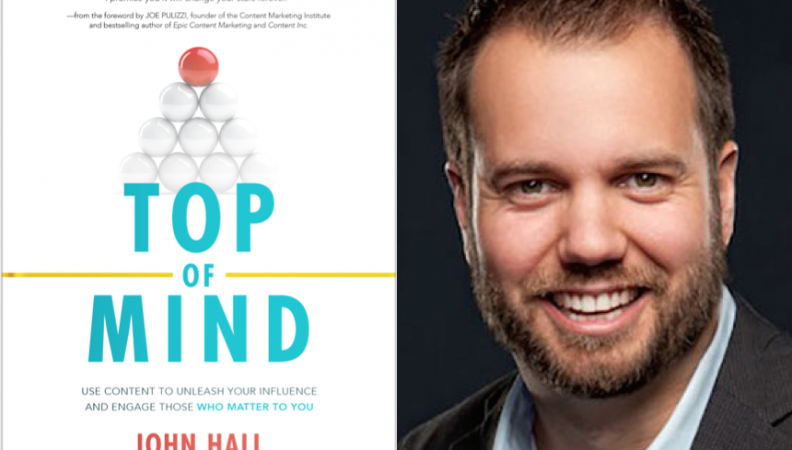 "Weekend Reading: ""Top of Mind"" by John Hall"