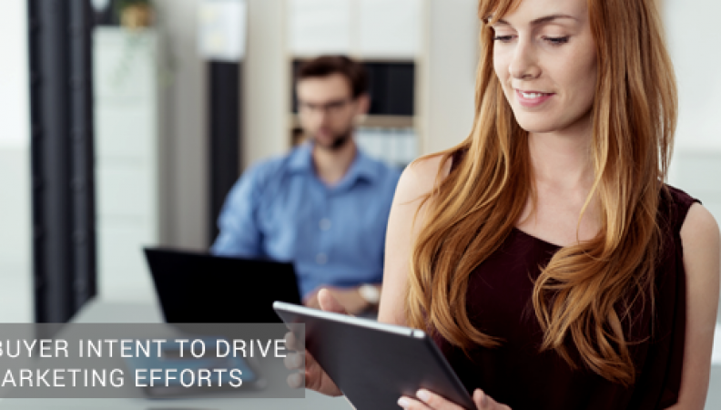 Using Buyer Intent to Drive Your Marketing Efforts
