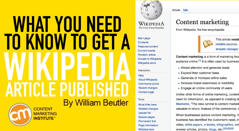 What You Need to Know to Get a Wikipedia Article Published