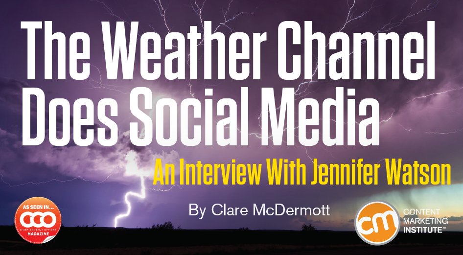 How The Weather Channel Does Social Media