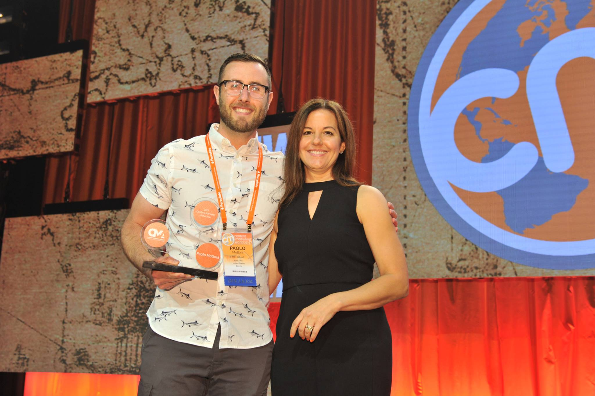 2017 Content Marketing Awards Top Prize Winners Announced Live at #CMWorld