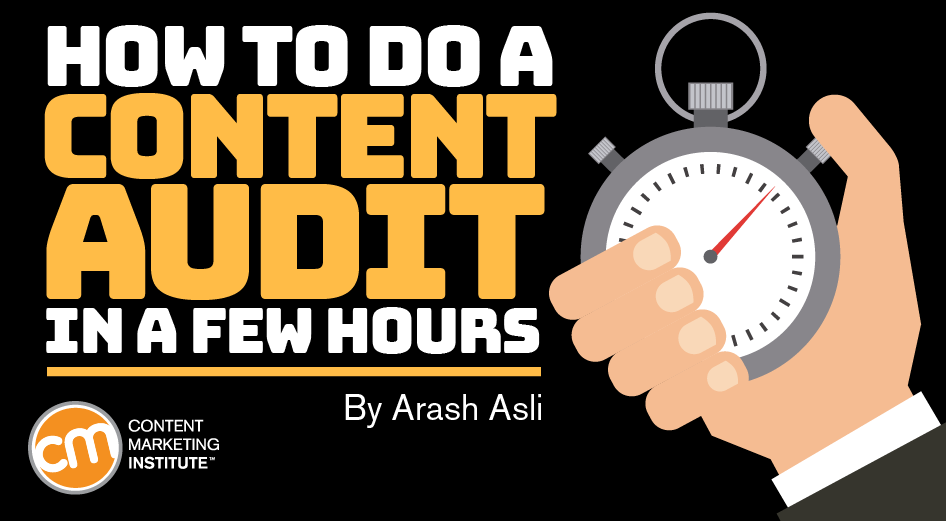 How to Do a Content Audit in a Few Hours