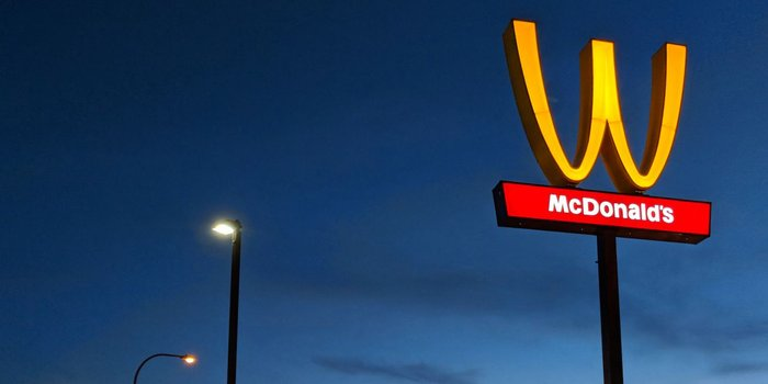 McDonald's Is Flipping its Iconic Arches Upside Down in an Unprecedented Statement