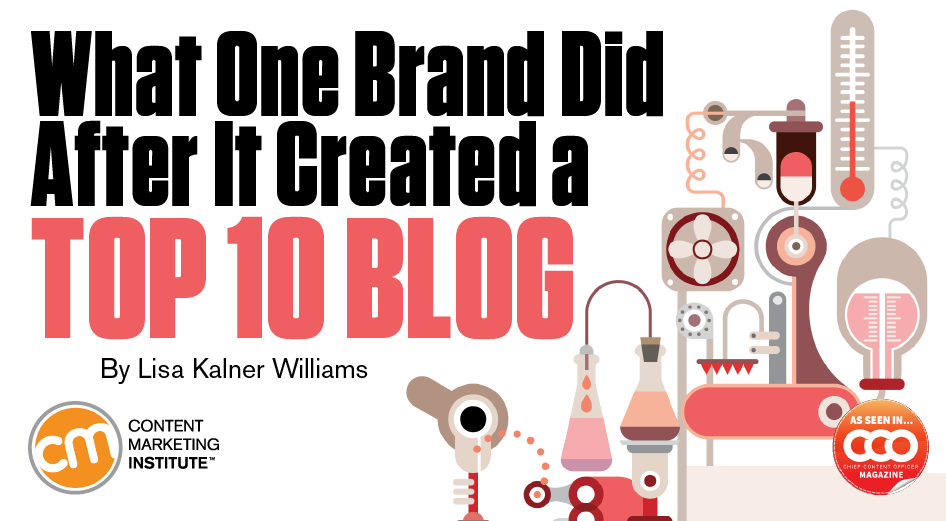 What One Brand Did After It Created a Top 10 Blog