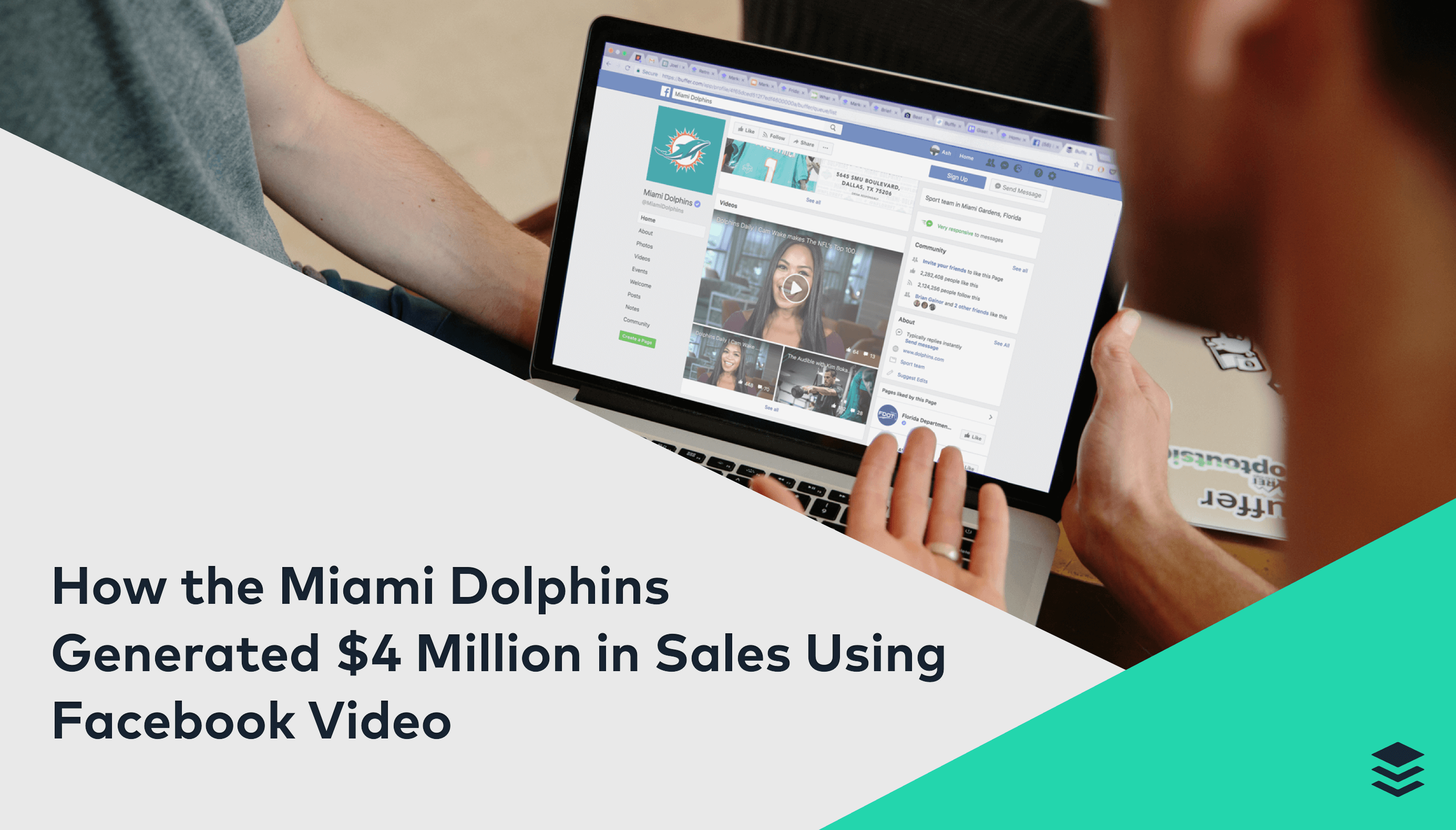 How the Miami Dolphins Generated $4 Million in Sales Using Facebook Video