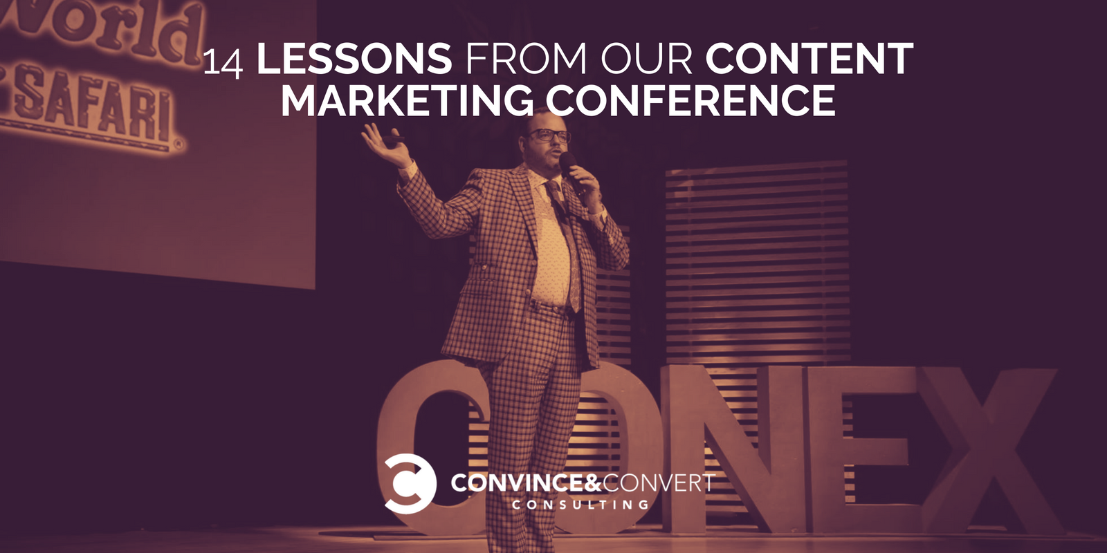 14 Lessons From Our Content Marketing Conference