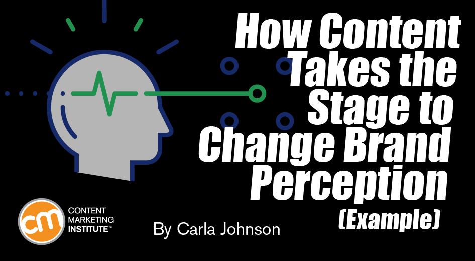How Content Takes the Stage to Change Brand Perception [Example]