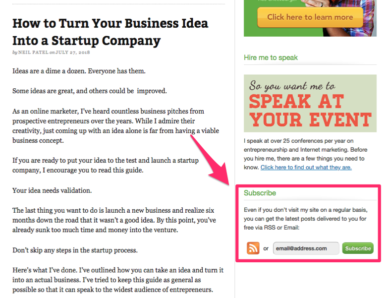 How to Get More Email Subscribers Without Annoying Your Website Visitors