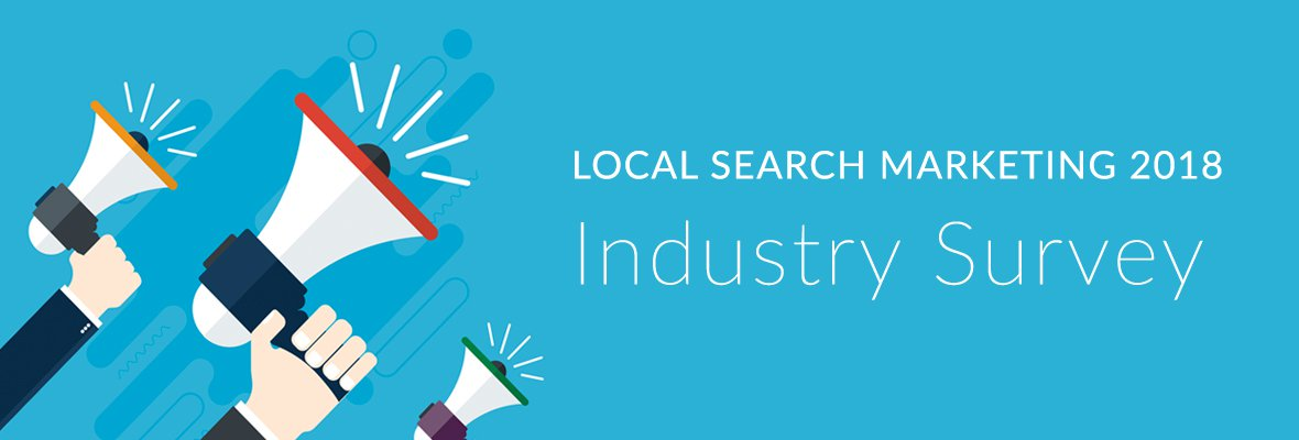 Take the 2018 Moz Local Search Marketing Industry Survey