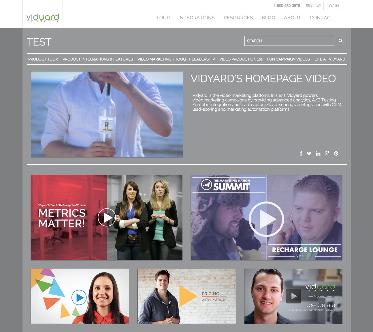 Bring the YouTube Experience to Your Website with a Vidyard Video Hub