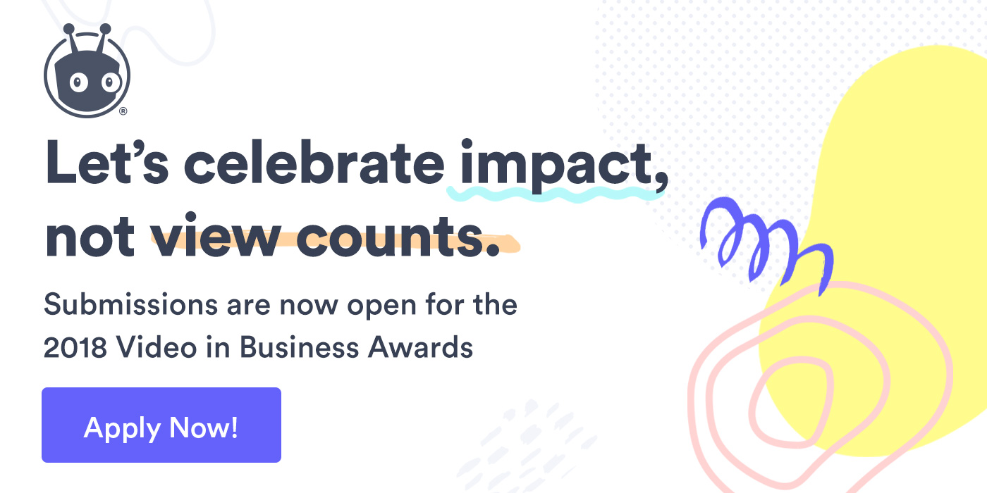Call for Submissions: The All-New Video in Business Awards