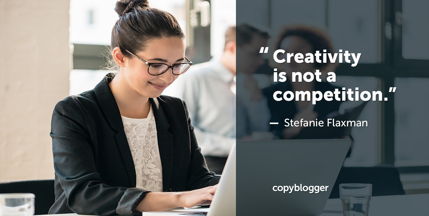 How to Stop Comparing Yourself to Other Content Marketers (and Start Getting Better Clients)