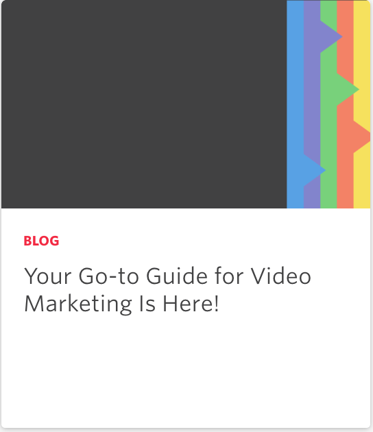 Video is not just for marketing! Start using it across your business