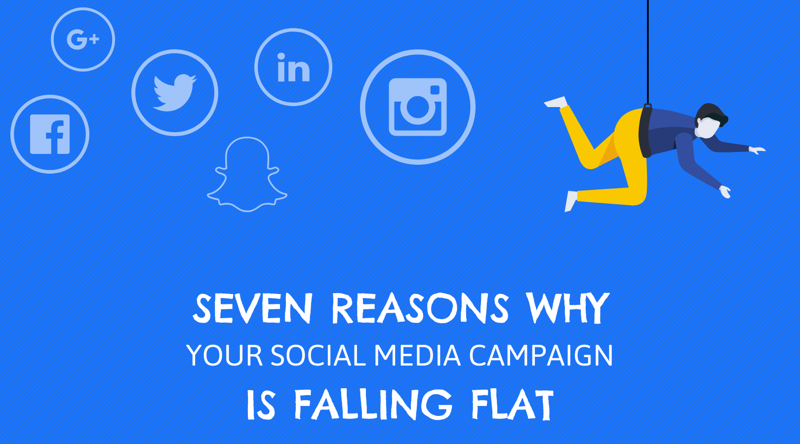 7 Reasons Why Your Social Media Activity is Falling Flat