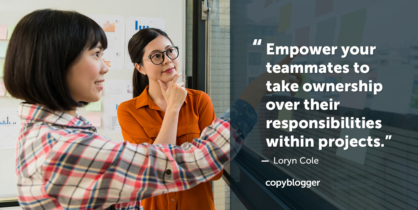 Successful Communication at Work: Candid Advice from Copyblogger's Loryn Cole