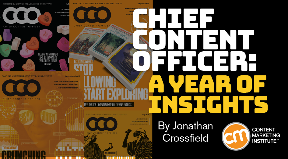Chief Content Officer: A Year of Insights