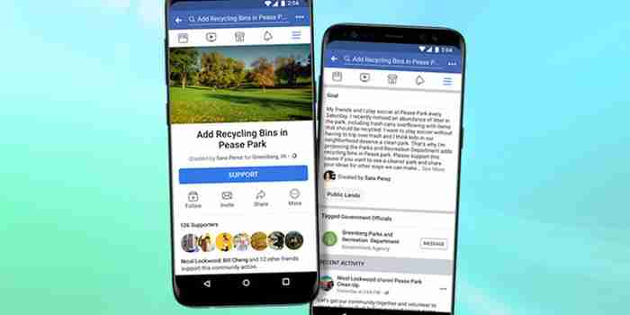 Facebook Gets More Political With 'Community Petitions'