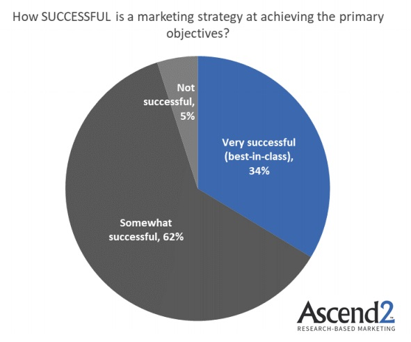 Do Marketers Think Their Strategies Are Successful?