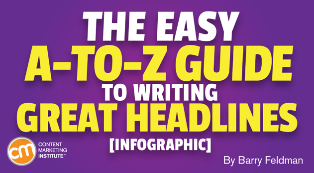 The Easy A-to-Z Guide to Writing Great Headlines [Infographic]