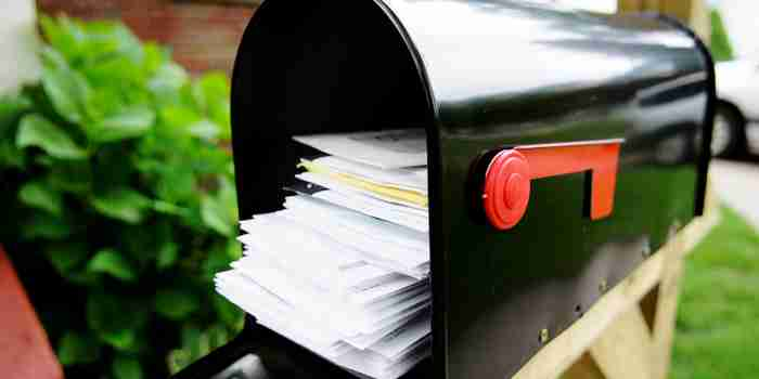 Why You Don't Want to Fail This Direct-Mail Test