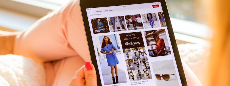 Don't Neglect Pinterest for Fashion, Lifestyle Marketing